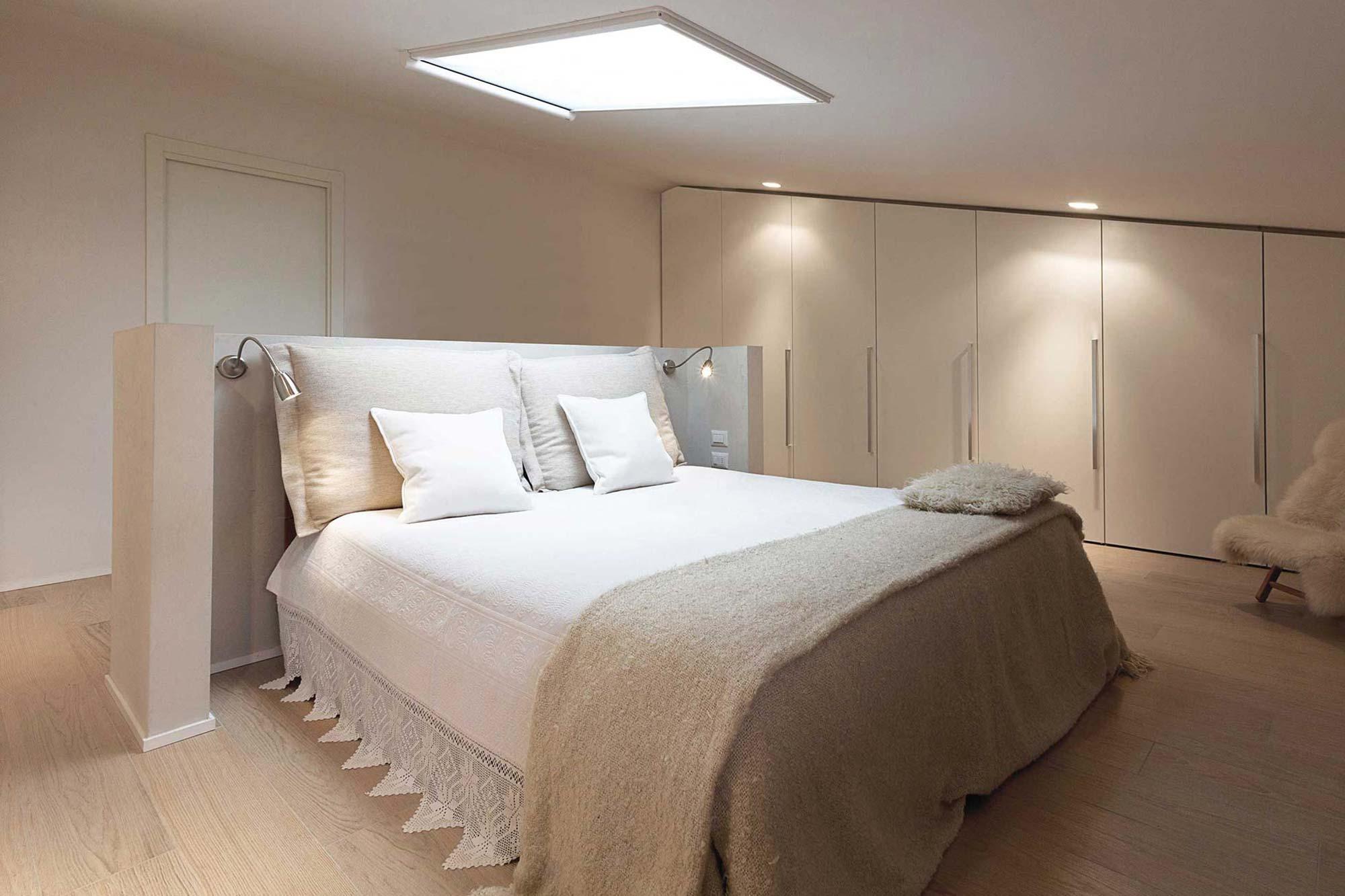 Rachele biancalani studio portfolio villa minimal for Camera da letto con studio